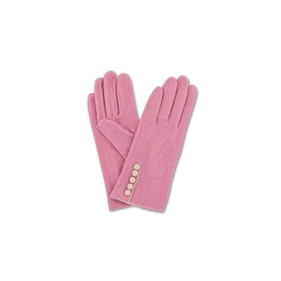 Clementine Wool Gloves-Discontinued-Candy Pink-Tegen Accessories