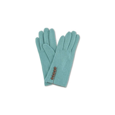 Clementine Wool Gloves-Discontinued-Sea Green-Tegen Accessories