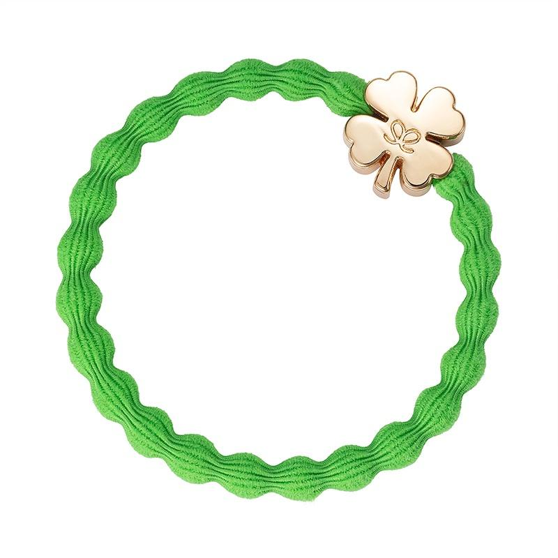 Clover Charm Hairband-By Eloise-Elastics-Tegen Accessories-Green