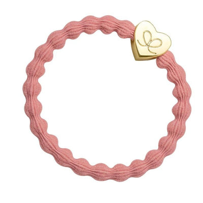 Coloured Charm Hairband-Elastics-by Eloise-Coral-Tegen Accessories