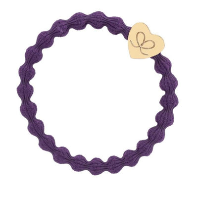 Coloured Charm Hairband-Elastics-by Eloise-Purple-Tegen Accessories