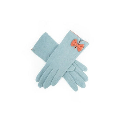 Cordelia Wool Gloves-Discontinued-Blue-Tegen Accessories