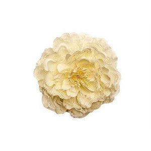 Cream Flower Hair Clip-Hair flowers-Rosie Fox-Cream-Tegen Accessories