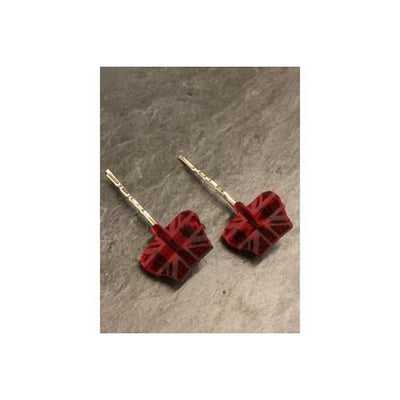 Crown Jewels Hair Grips-Discontinued-Red-Tegen Accessories