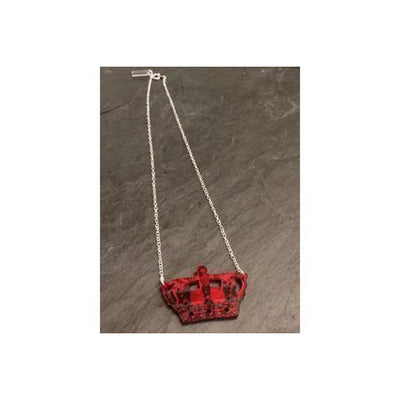 Crown Jewels Necklace-Discontinued-Red-Tegen Accessories