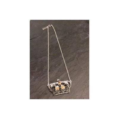 Crown Jewels Necklace-Discontinued-Silver-Tegen Accessories