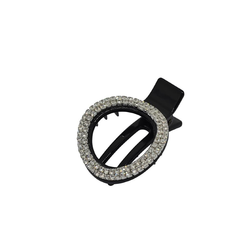 Crystal Circle Cut Out Clip