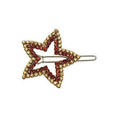 Crystal Star Hair Clip-Discontinued-Gold-Tegen Accessories