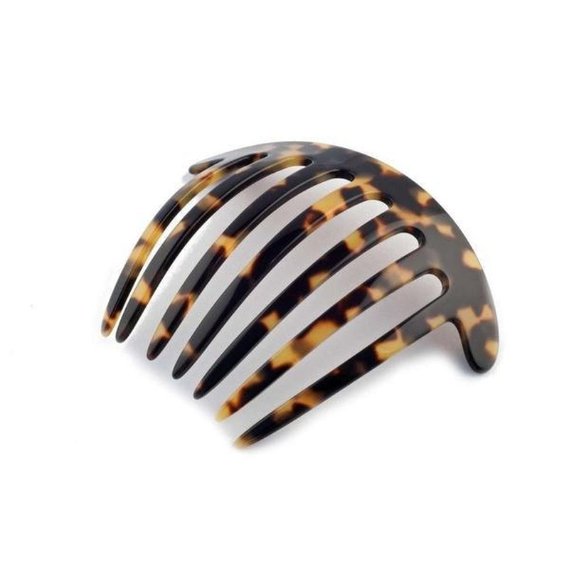 Curved French Pleat Comb-Hair combs-Ooh La La!-Dark Tokio-Tegen Accessories