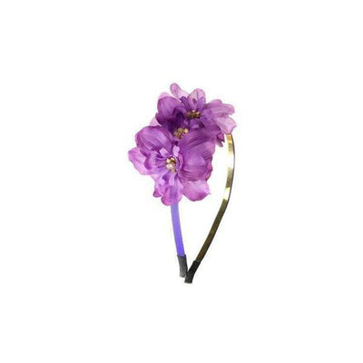 Delphinium Headband-Hair flowers-Rosie Fox-Purple-Tegen Accessories