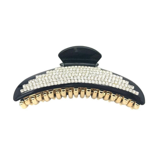 Diamante Diva Hair Claw-Discontinued-Tortoiseshell-Tegen Accessories
