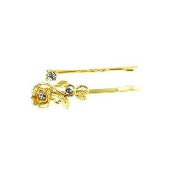 Elegant Gold Hair Grips-Discontinued-Gold-Tegen Accessories