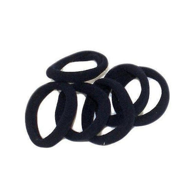 Endless Elastic Hair Ties-Elastics-Tegen Accessories-Black-Tegen Accessories