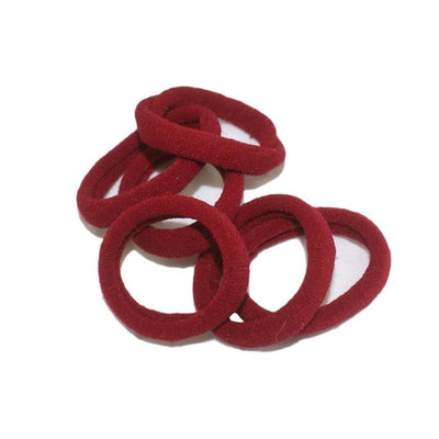 Endless Elastic Hair Ties-Elastics-Tegen Accessories-Burgundy-Tegen Accessories