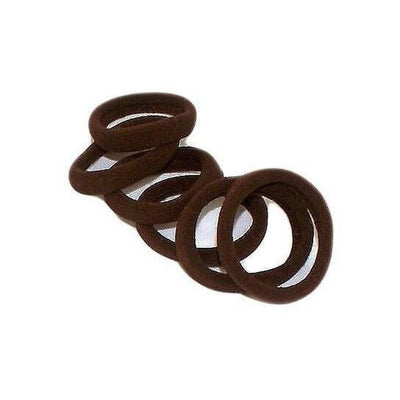 Endless Elastic Hair Ties-Elastics-Tegen Accessories-Dark Brown-Tegen Accessories