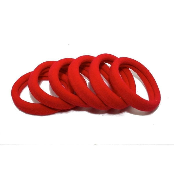 Endless Elastic Hair Ties-Elastics-Tegen Accessories-Red-Tegen Accessories