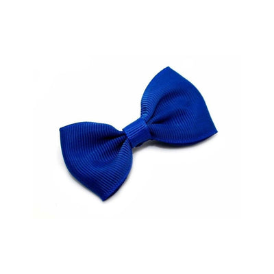 Fabric Hair Bow-Discontinued-Blue-Tegen Accessories
