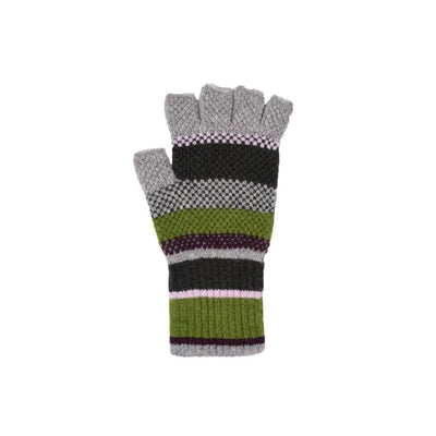 Fingerless Lambswool Gloves-Discontinued-Botanical-Tegen Accessories