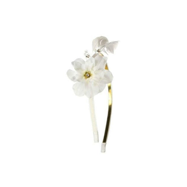 Flower Blossom Headband-Hair flowers-Rosie Fox-Ivory-Tegen Accessories Cream