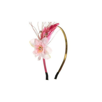 Flower Blossom Headband-Hair flowers-Rosie Fox-Pink-Tegen Accessories