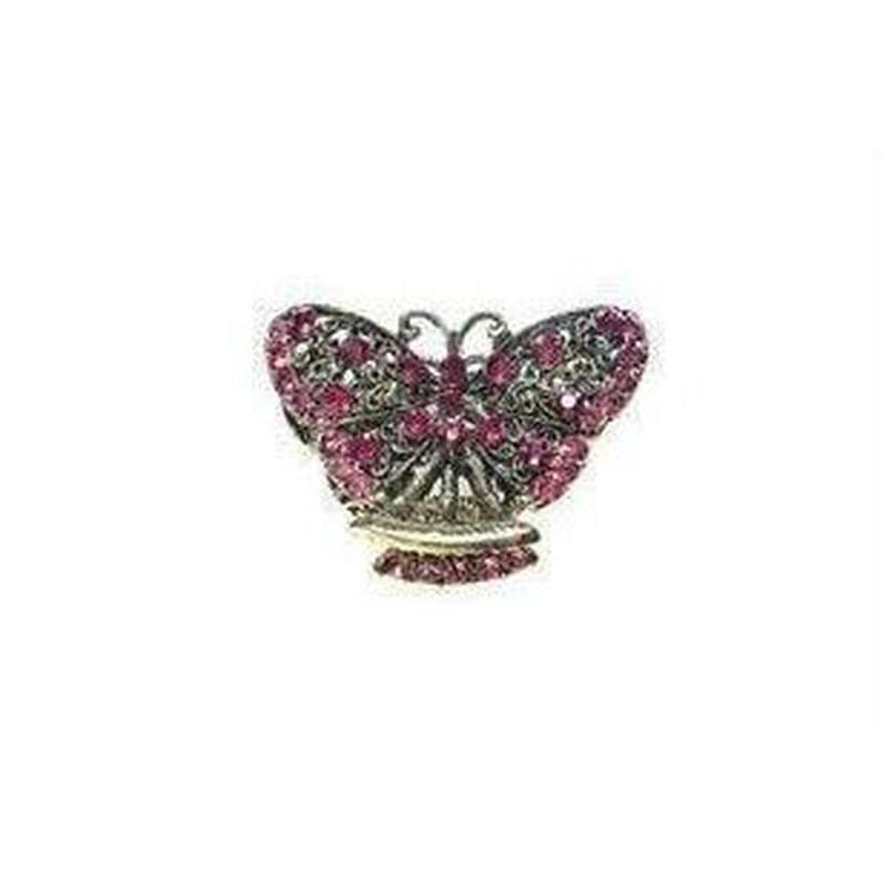 Fuchsia Butterfly Hair Claw-Hair claws-Rosie Fox-Fuchsia-Tegen Accessories