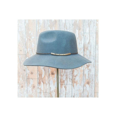 Giselle Fedora Hat-Discontinued-Charcoal-Tegen Accessories