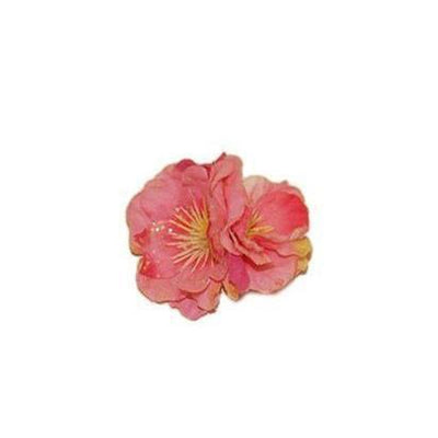 Glitter Flower Hair Clip-Hair flowers-Rosie Fox-Pink-Tegen Accessories