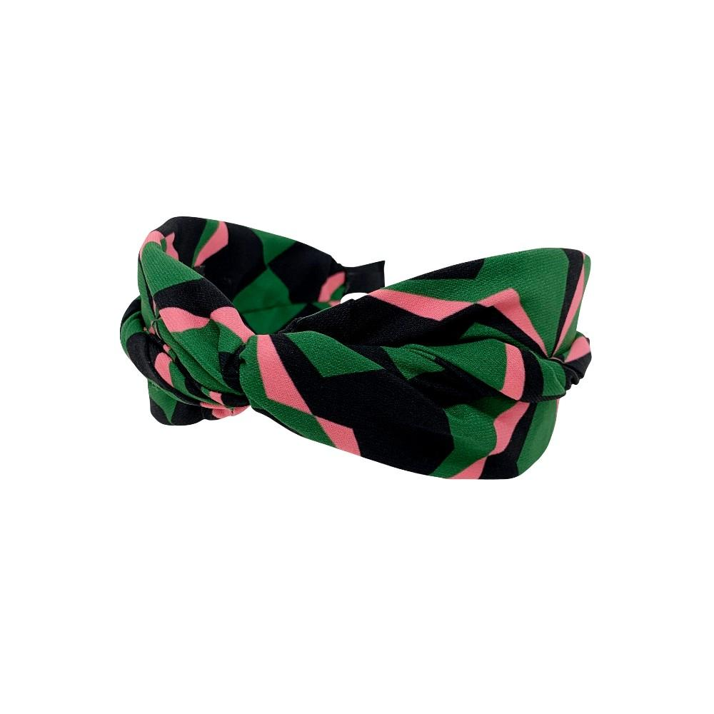 Handmade Three Colour Knot Headband - Tegen Accessories - Headband - Tegen Accessories - Green