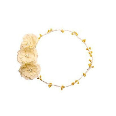 Ivory Rose Hair Garland-Hair flowers-Rosie Fox-Ivory-Tegen Accessories