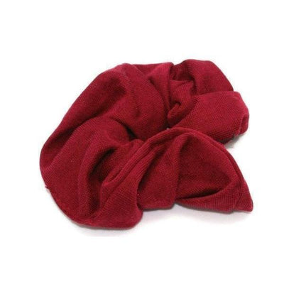 Jersey Scrunchie-Scrunchies-Tegen Accessories-Burgundy-Tegen Accessories