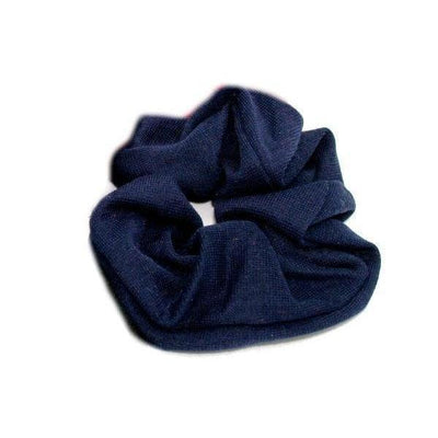 Jersey Scrunchie-Scrunchies-Tegen Accessories-Navy-Tegen Accessories