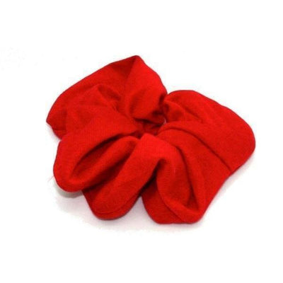 Jersey Scrunchie-Scrunchies-Tegen Accessories-Red-Tegen Accessories