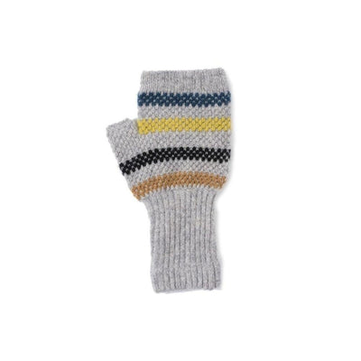 Lambswool Fingerless Gloves-Discontinued-Grey-Tegen Accessories