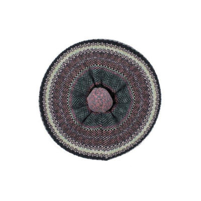 Lambswool Tweed Beret-Discontinued-Green Berry-Tegen Accessories