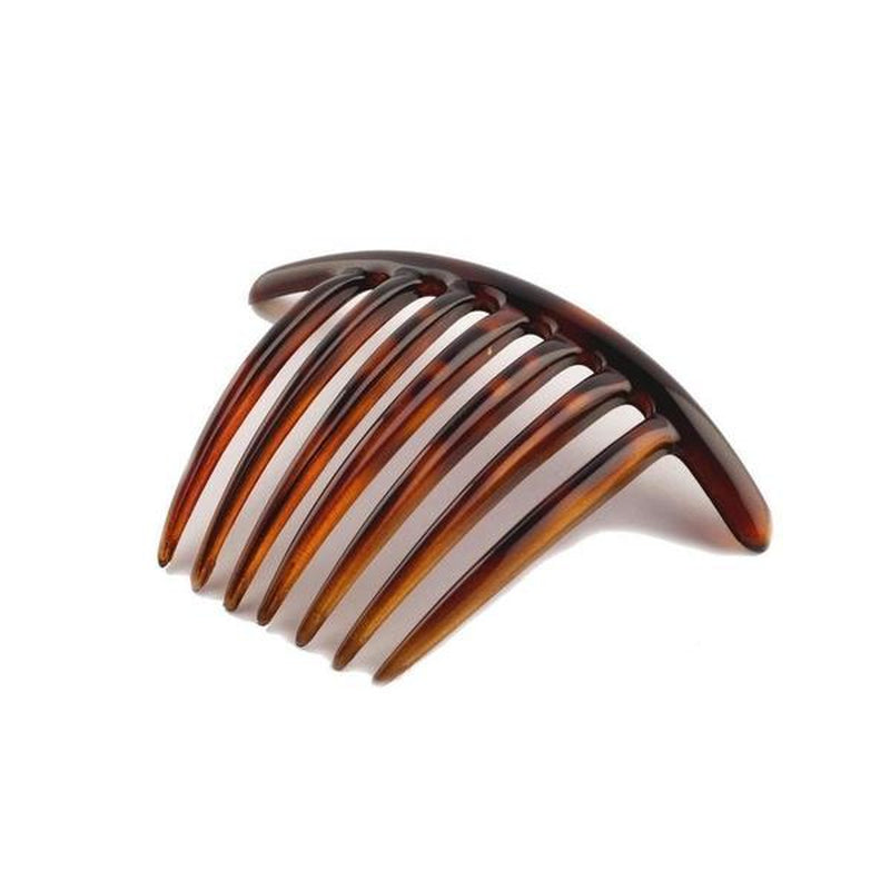 Large Bar Hair Comb-Hair combs-Essentials-Tortoiseshell-Brown-Tegen Accessories Brown
