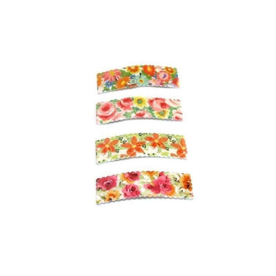 Large Floral Snap Clip-Discontinued-Tegen Accessories