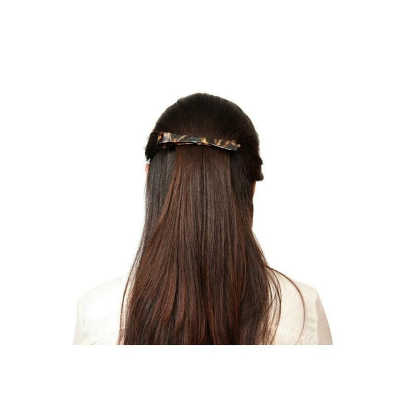 Layered Narrow Bar Barrette