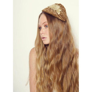 Leopard Gold Rose Capette-Headbands-Rosie Fox-Tegen Accessories