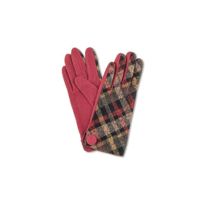 Lesley Wool Gloves-Discontinued-Berry-Tegen Accessories