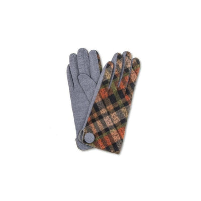 Lesley Wool Gloves-Discontinued-Slate-Tegen Accessories