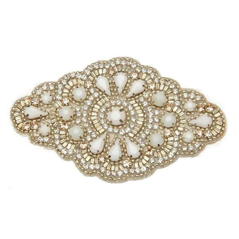 'Lyra' Bridal Comb-Hair combs-Eliza Vale-Ivory-Tegen Accessories