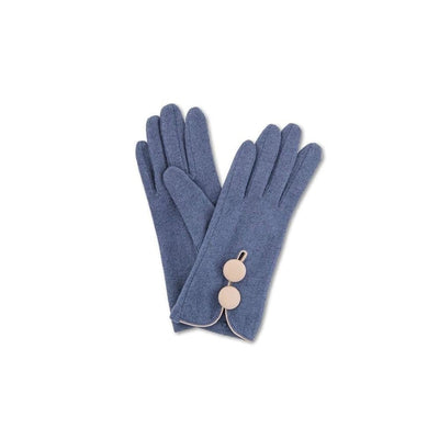 Mabel Wool Gloves-Discontinued-French Navy-Tegen Accessories