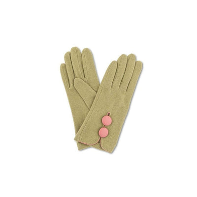 Mabel Wool Gloves-Discontinued-Moss-Tegen Accessories