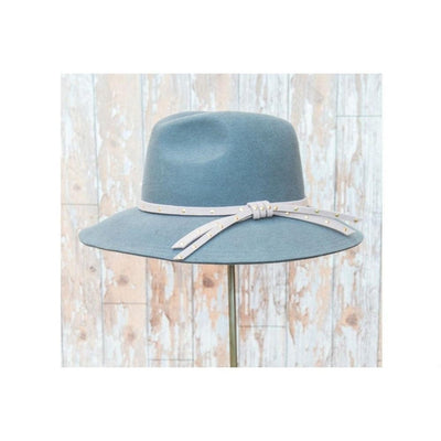 Madeleine Panama Hat-Discontinued-Charcoal/Stone-Tegen Accessories