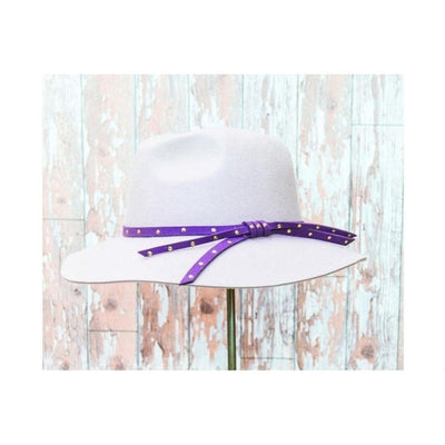 Madeleine Panama Hat-Discontinued-Stone/Mulberry-Tegen Accessories