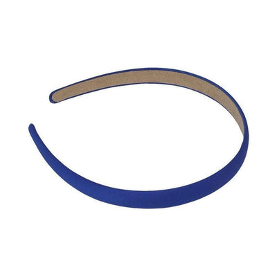 Matte Satin Headband-Headbands-Children-Blue-Tegen Accessories