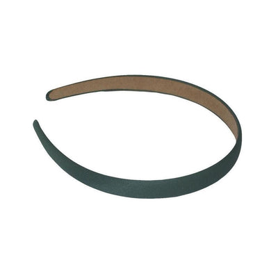 Matte Satin Headband-Headbands-Children-Green-Tegen Accessories