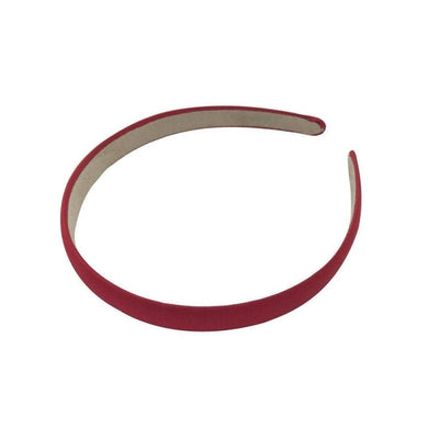 Matte Satin Headband-Headbands-Children-Red-Tegen Accessories