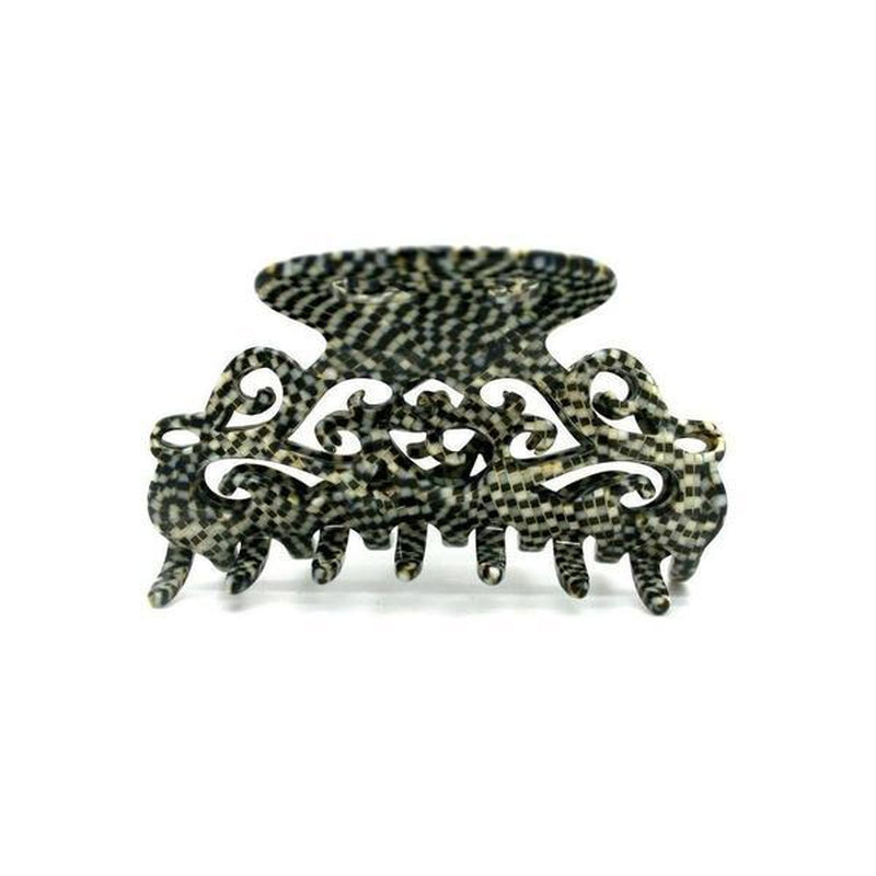 Medium Filigree Hair Claw-Hair claws-Ooh La La!-Vanilla-Cream-Tegen Accessories Cream