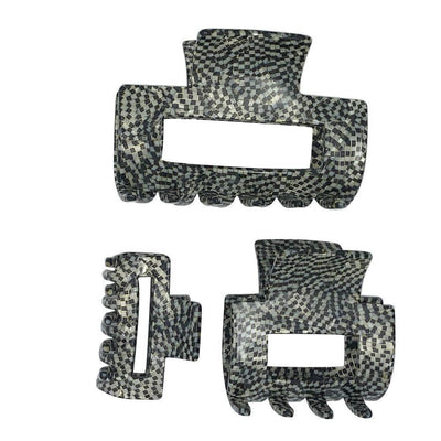 Medium Rectangle Cut Out Hair Claw-Hair claws-Ooh La La!-Tegen Accessories